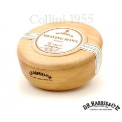 Sapone  da barba in ciotola legno D.R. Harris Mandorla