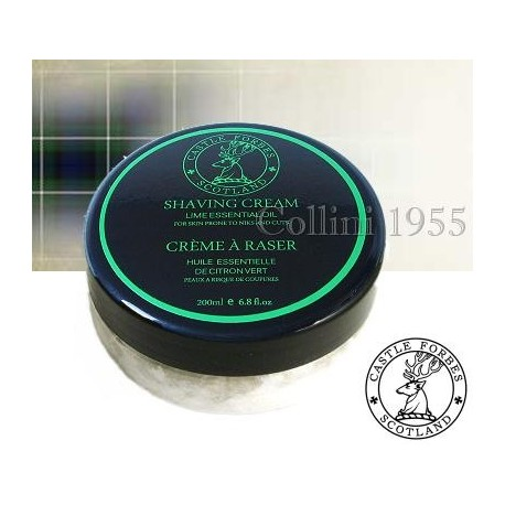 Crema Barba Lime Essential Oil 200 ml Castle Forbes